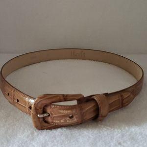 Loft   Women's Leather Belt Sz S